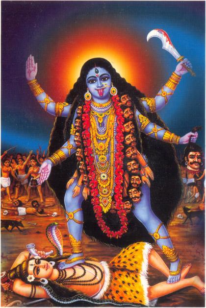 Kali Ma - Goddess - The Destroyer - Dark Mother
